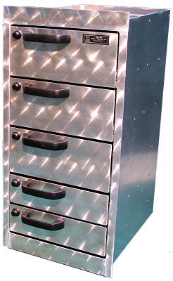"20"" Deep 5-Drawer Cabinet"