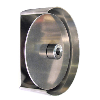 "7"" Aluminum Disc with Guard and Bushing"