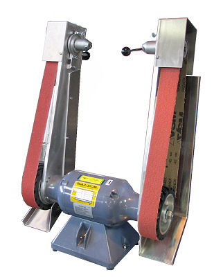"1/2 HP Baldor with Two 2"" x 48"" Sanding Arms"