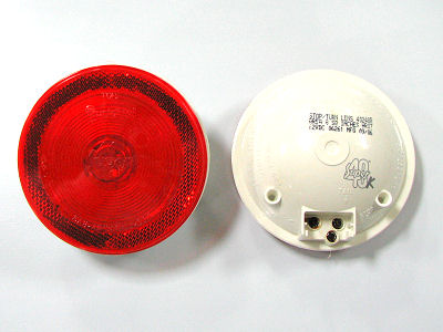 "4"" Red Bulb-Type S/T/T Lamp"