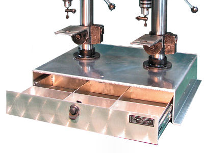 Double Drill Press Drawer