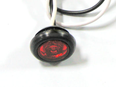 "3/4"" Red or Yellow LED Marker Light"