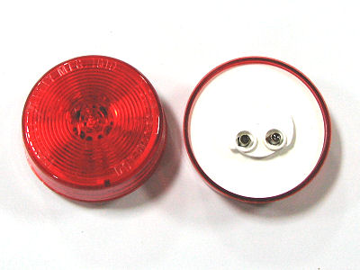 "2 1/2"" Red or Yellow Marker Light, LED"